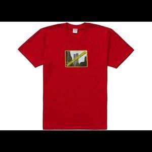 Supreme Greetings from NY shirt